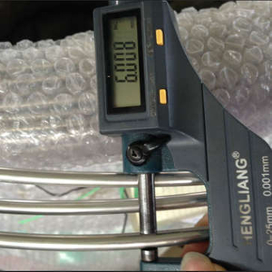 Stainless steel pipe cable for testing
