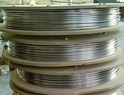ASTM A249 304 9.52*1.24 MM Stainless steel coil tube
